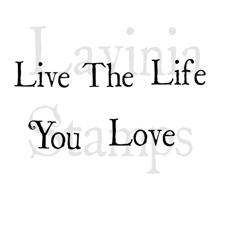 Lavinia Stamps - Live The Life...