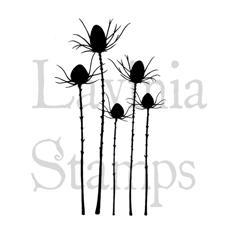 Lavinia Stamps - Silhouette Thistle