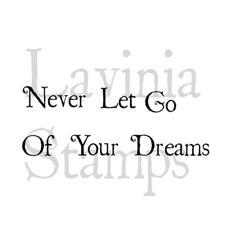 Lavinia Stamps - Never Let Go...
