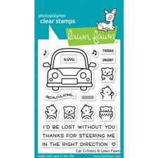 Lawn Fawn Clear Stamp - Car Critters