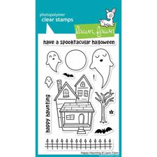 Lawn Fawn Clear Stamps - Happy Haunting