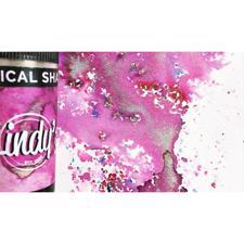 Lindy's Stamp Gang Magical Shakers - Magnolia Magenta Gold
