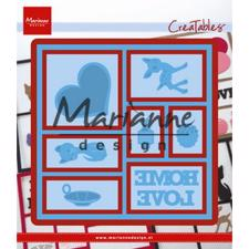 Marianne Design Creatables - Square Lay-Out