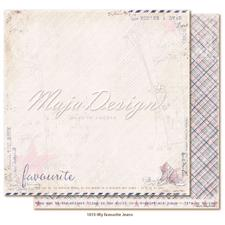 Maja Design Scrapbook Paper -Denim & Girls / Favourite Jeans