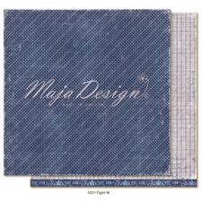 Maja Design Scrapbook Paper -Denim & Girls / Tight Fit