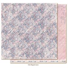 Maja Design Scrapbook Paper -Denim & Girls / Ripped Jeans