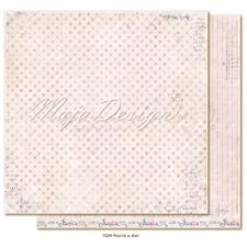 Maja Design Scrapbook Paper -Denim & Girls / You´re a Star