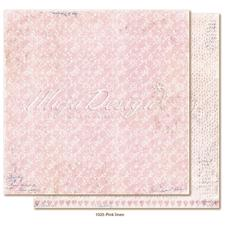 Maja Design Scrapbook Paper -Denim & Girls / Pink linen