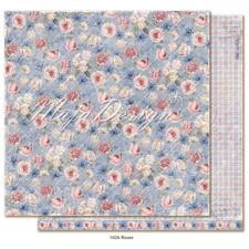 Maja Design Scrapbook Paper -Denim & Girls / Roses