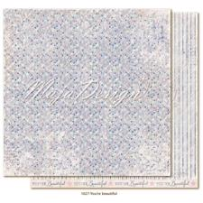 Maja Design Scrapbook Paper -Denim & Girls / You´re Beautiful