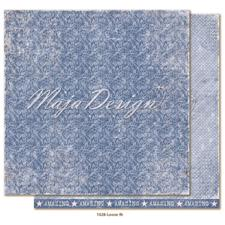 Maja Design Scrapbook Paper -Denim & Girls / Loose fit