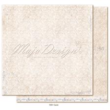 Maja Design Scrapbook Paper -Denim & Girls / Lace