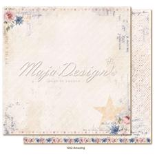 Maja Design Scrapbook Paper -Denim & Girls / Amazing
