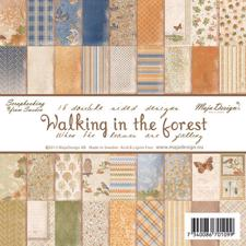 Scrapbook Paper Pad 6x6 -  Walking in the Forest
