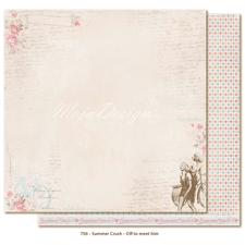 Scrapbook Paper - Summer Crush / Off To Meet Him