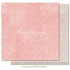 Scrapbook Paper - Summer Crush / Met Her at the Dance