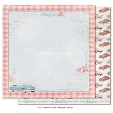 Scrapbook Paper - Summer Crush / He Picks Her Up