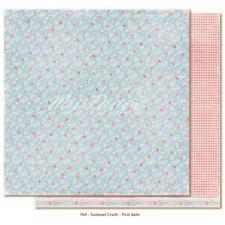 Scrapbook Paper - Summer Crush / First Date