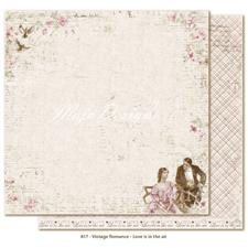 Scrapbook Paper - Vintage Romance / Love is in the air