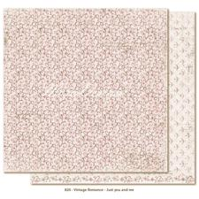 Scrapbook Paper - Vintage Romance / Just you and me