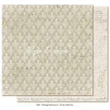 Scrapbook Paper - Vintage Romance / To be with you