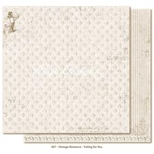 Scrapbook Paper - Vintage Romance / Falling for you