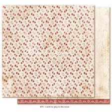 Maja Design Scrapbook Paper - I Wish to play in the snow