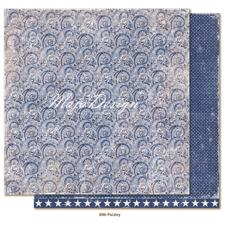 Maja Design Scrapbook Paper -Denim & Friends / Paisley