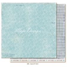 Maja Design Scrapbook Paper -Denim & Friends / Jeans & T-shirt
