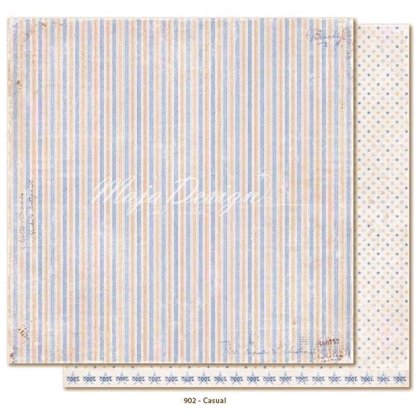 Maja Design Scrapbook Paper -Denim & Friends / Casual