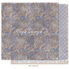 Maja Design Scrapbook Paper -Denim & Friends / Jeans & Tie