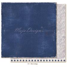 Maja Design Scrapbook Paper -Denim & Friends / Worn Indigo