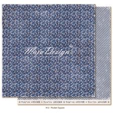Maja Design Scrapbook Paper -Denim & Friends / Pocket Square