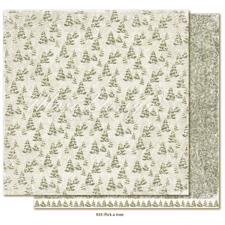 Maja Design Scrapbook Paper - Joyous Winterdays / Pick a Tree