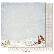 Maja Design Scrapbook Paper - Joyous Winterdays / Santa Claus