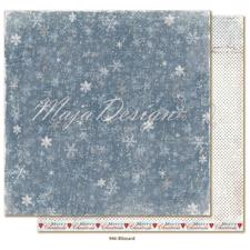 Maja Design Scrapbook Paper - Joyous Winterdays / Blizzard
