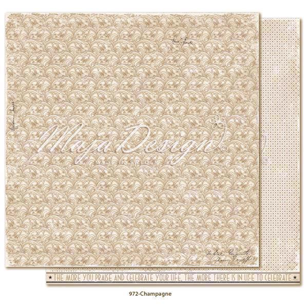 Maja Design Scrapbook Paper - Celebration / Champagne
