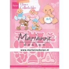 Marianne Design Collectables - Eline's Babies