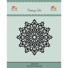 Dixi Craft Die - Large Ice Crystal Doily