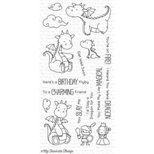My Favourite Things Stamp Set - Magical Dragons