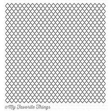 My Favorite Things Background Cling Stamp - Moroccan Lattice