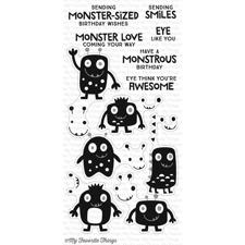 My Favourite Things Stamp Set - Monster Love
