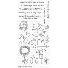 My Favourite Things Stamp Set - Fall Friends