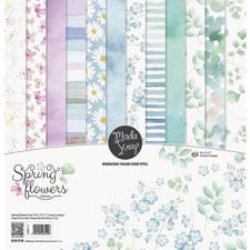 "ModaScrap Paper Pack 12x12"" - Spring Flowers"
