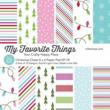 "My Favorite Things Paper Pad 6x6"" - Christmas Cheer"