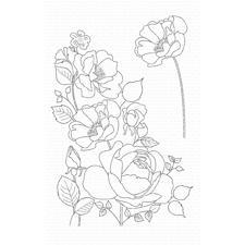 My Favourite Things Stamp Set - Rose Garden