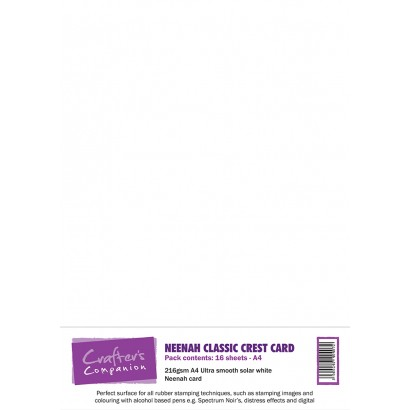 Crafter\'s Companion - Neenah Classic Crest Card Solar White (80 lbs / 216 gsm)