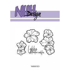 NHH Design Clearstamp - Flower-1
