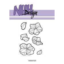 NHH Design Clearstamp - Flower-2