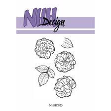 NHH Design Clearstamp - Flower-3